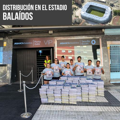Distribución Estadio Celta