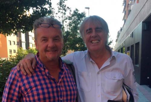 Reunión con Siro Lopez nuevo proyecto