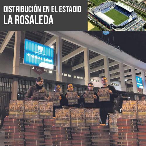 Distribución Estadio Málaga